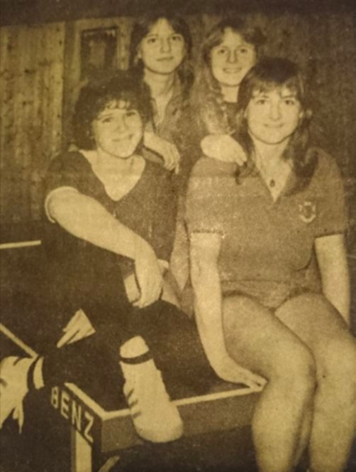 Damenmannschaft 1983